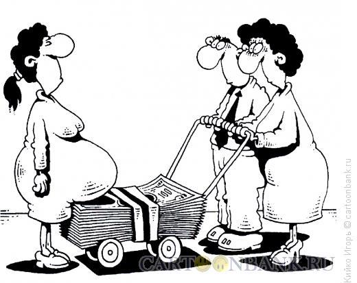 Карикатура: Родительская помощь, Кийко Игорь
