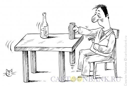 Карикатура: Стакан из подпространства, Смагин Максим