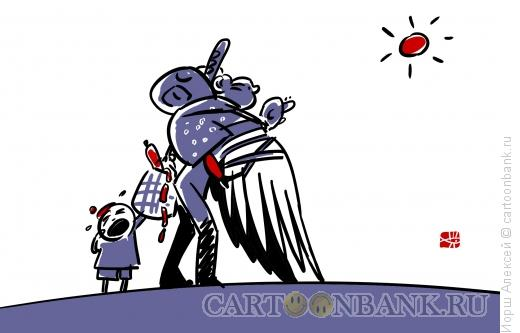 Карикатура: Икар, Иорш Алексей