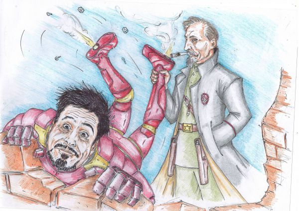 """Карикатура: """"Железный Феликс"""", Павел Валерьев"""