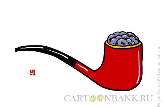 Карикатура: Трубка, Иорш Алексей