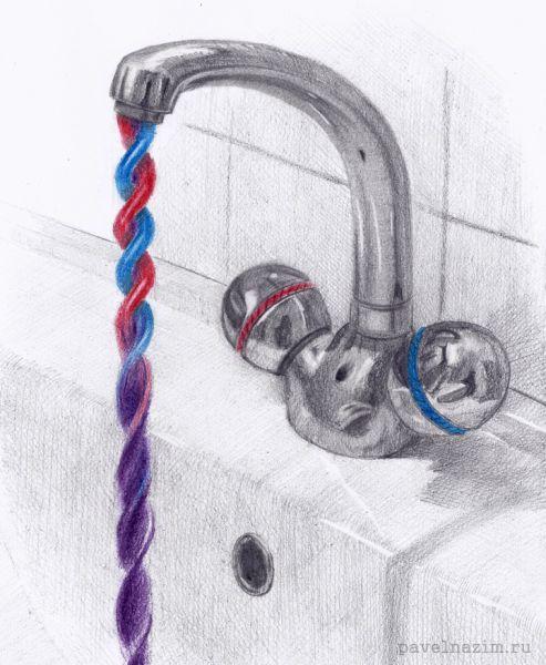 Карикатура: Насоящий смеситель, Павел Назим