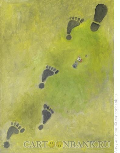 Карикатура: Травма, Анчуков Иван