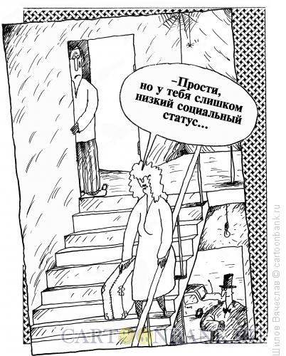 Карикатура: Низкий статус, Шилов Вячеслав