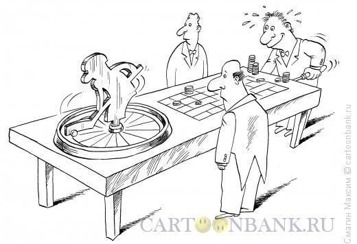 Карикатура: Хоккейная рулетка, Смагин Максим