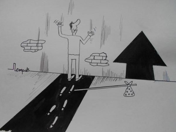 Карикатура: Путь, Петров Александр
