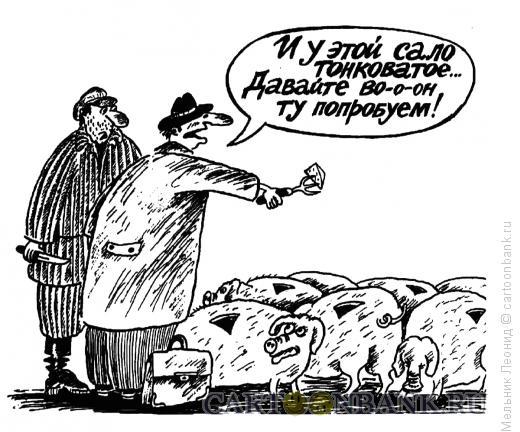 Карикатура: Тест, Мельник Леонид