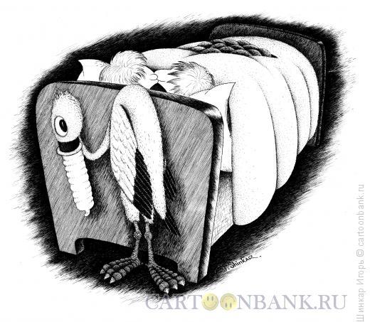 Карикатура: Аист, Шинкар Игорь