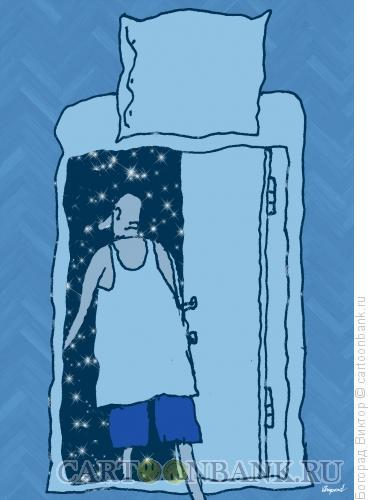 Карикатура: Вход в сон, Богорад Виктор