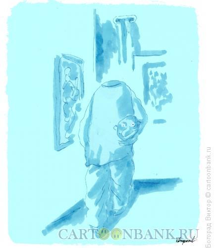 Карикатура: Ночь музеев, Богорад Виктор