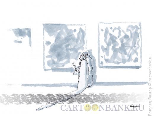 Карикатура: Ночь музеев 2, Богорад Виктор