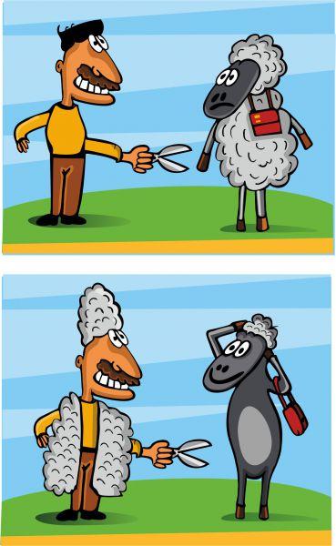 Карикатура: Обмен, somnambula