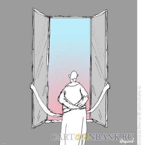 Карикатура: Безумное утро, Богорад Виктор