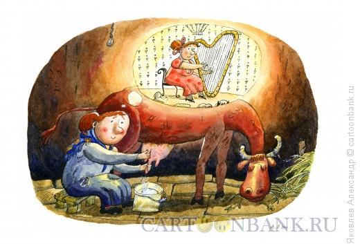 Карикатура: Мечта, Яковлев Александр