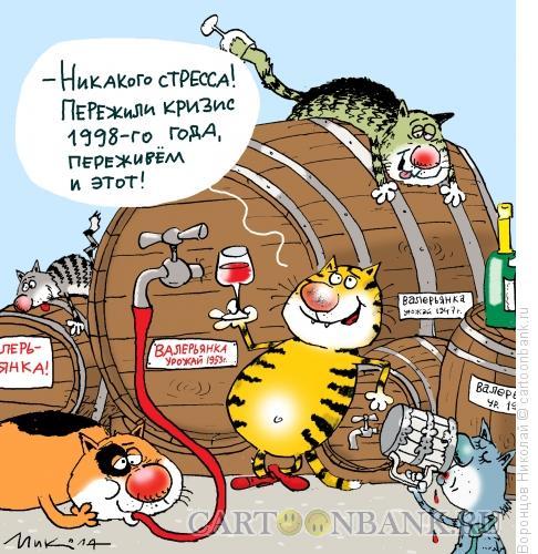 Карикатура: � этот кризис переживем, Воронцов Николай