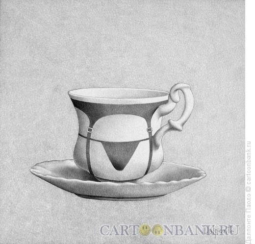 Карикатура: a sexy coffee, Далпонте Паоло