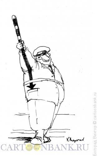 Карикатура: Гаишник, Богорад Виктор