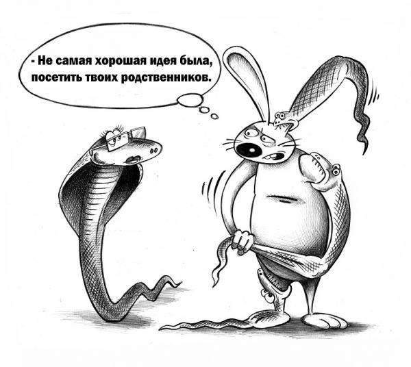 Карикатура: Не самая хорошая идея, Сергей Корсун
