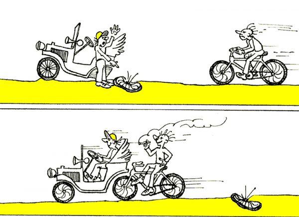 Карикатура: Смекалка, Юрий Санников