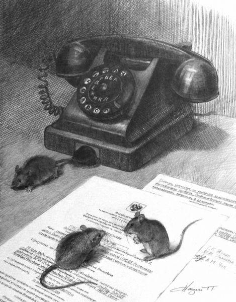 Карикатура: ПроМЫШЬленный шпионаж, nazim_p