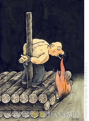 Карикатура: Последнее желание, Семеренко Владимир