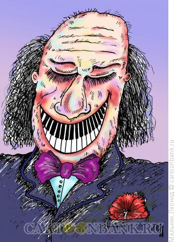 Карикатура: Зубы!!!, Мельник Леонид