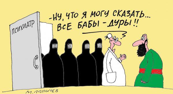Карикатура: Дуры, Михаил ларичев