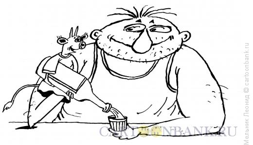 Карикатура: Кукловод, Мельник Леонид