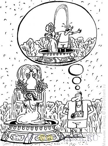 Карикатура: Мечта, Мельник Леонид