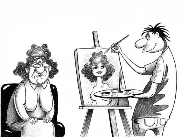Карикатура: Портрет, Сергей Корсун