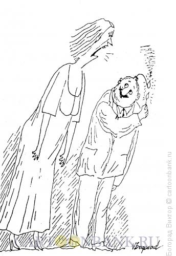 Карикатура: Семейный скандал, Богорад Виктор