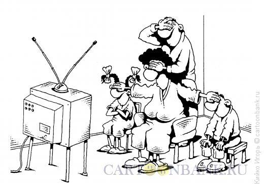 Карикатура: С широко закрытыми глазами, Кийко Игорь