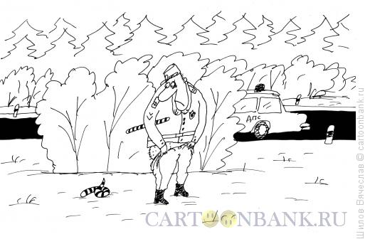 Карикатура: Профдеформация, Шилов Вячеслав