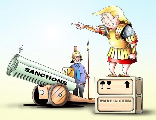 Карикатура: Санкции, Сергей Корсун