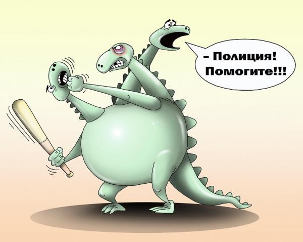 Карикатура: Змей, Сергей Корсун