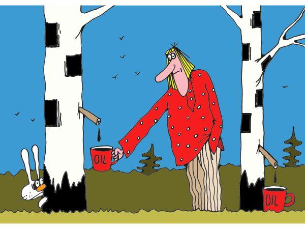 Карикатура: Родина, Михаил Ларичев