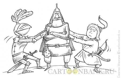 Карикатура: Между Востоком и Западом, Смагин Максим
