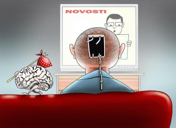Карикатура: Побег, Сергей Корсун