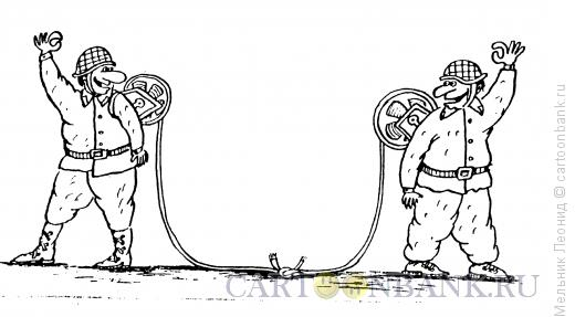 Карикатура: Все, О,кей!, Мельник Леонид