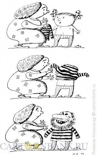 Карикатура: Тельняшка, Яковлев Александр