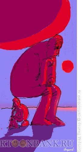 Карикатура: Мыслители, Богорад Виктор