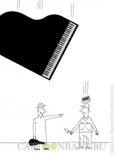Карикатура: Ноктюрн, Тарасенко Валерий