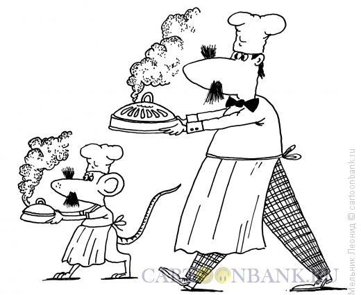 Карикатура: Помощник, Мельник Леонид