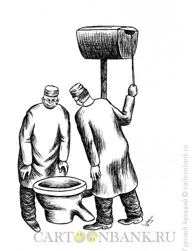 Карикатура: врачи, Гурский Аркадий