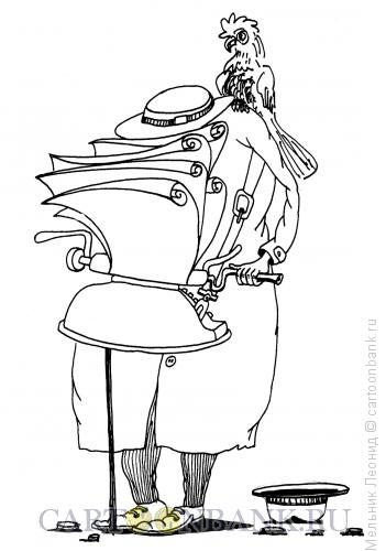 Карикатура: Печатник, Мельник Леонид