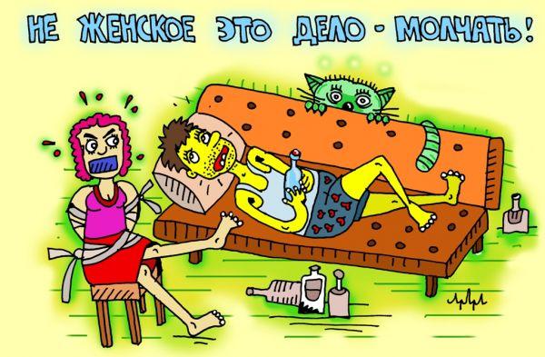 Карикатура: выход прост до гениальности, leon2008