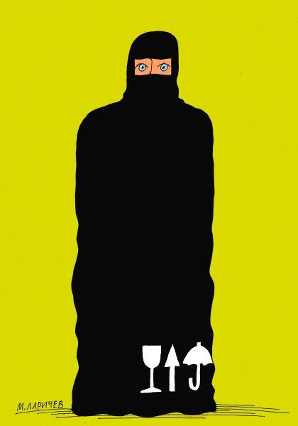 Карикатура: не кантовать, михаил ларичев