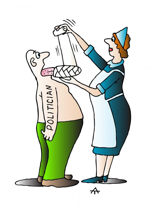 Карикатура: Политик, Alexei Talimonov