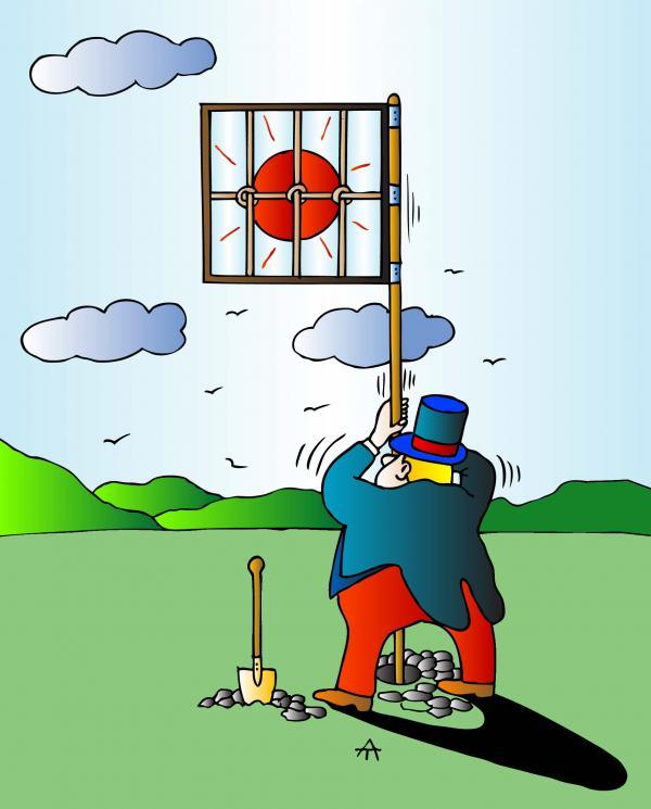 Карикатура: Солнце, Alexei Talimonov