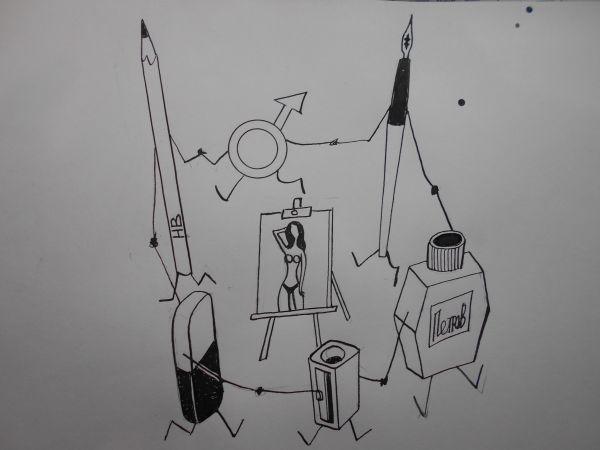 Карикатура: Обычная история, Петров Александр